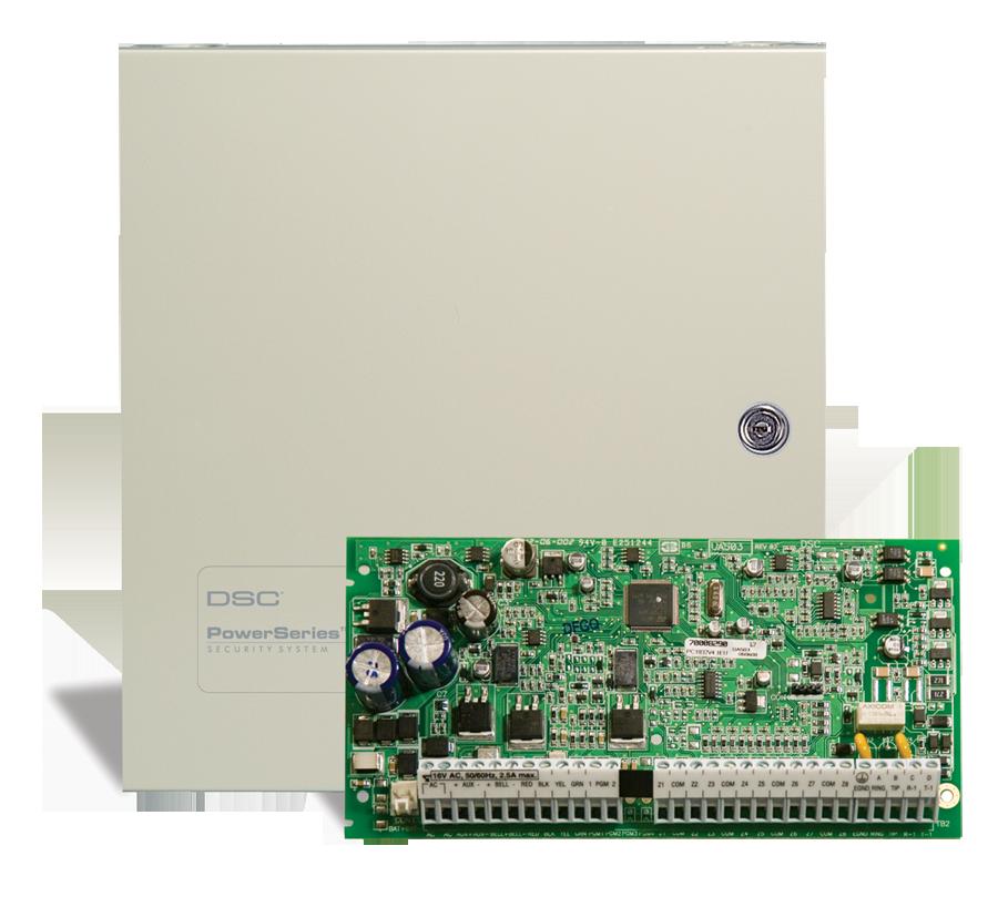 DSC PC1404 - Alarma 8 zone